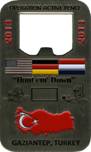 custom military challenge coin