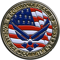 challenge_coins-US_Air_Force_Commander_Coin_Noble_Medals