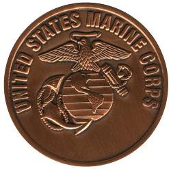 USMC challenge coin