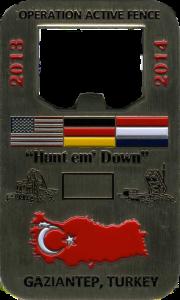 custom military challenge coin