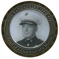 noblemedals navy challenge coin